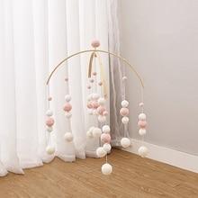 Список Hairball Колокольчик для детской кроватки детские подвесные украшения красочное украшение в детскую комнату реквизит для фотосъемки простой домашний декор