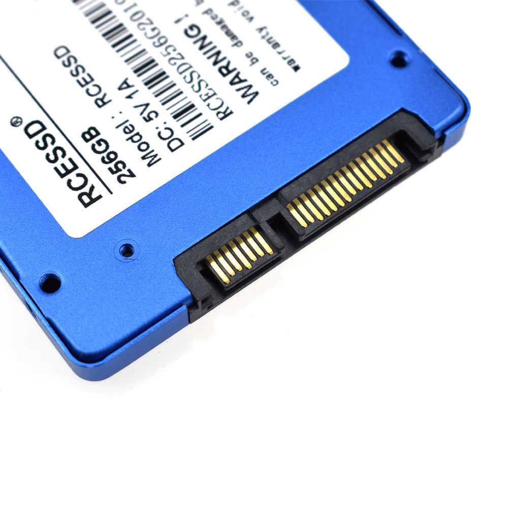 RCESSD 1tb 120gb 240gb 480gb SSD 500g HDD 2.5 ''SSD SATA SATAIII 512gb 256gb 128gb הפנימי עבור מחשב נייד שולחן עבודה