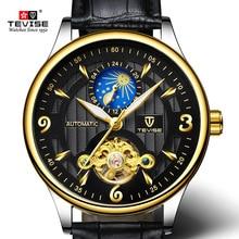 TEVISE Mens Watch Fashion Luxury Sport Brand Wristwatch Waterproof Automatic Mechanical Watch Male Luminous Watch For Man цена и фото