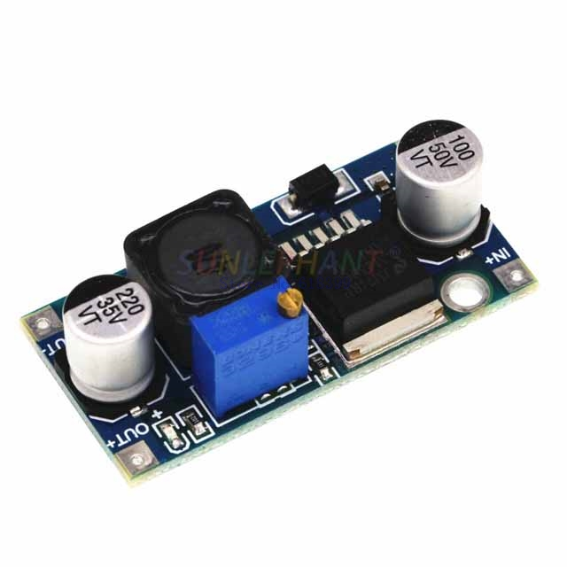 A6-- 3A Voltage regulator lm2596 LM2596S DC-DC 3-40V adjustable step-down power Supply module