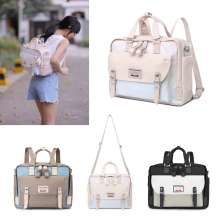 Fashion New Women Unicorn Backpacks School Shoulder Bags For Girl Cute Mochilas Laptop Backpack Conversion Ladies Travel Handbag