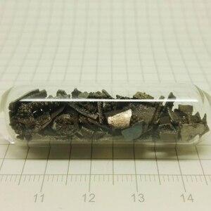 Стекло Герметичный марганцевый металлический лист электролиза Mn чистота 99.7% 5 грамм каждый