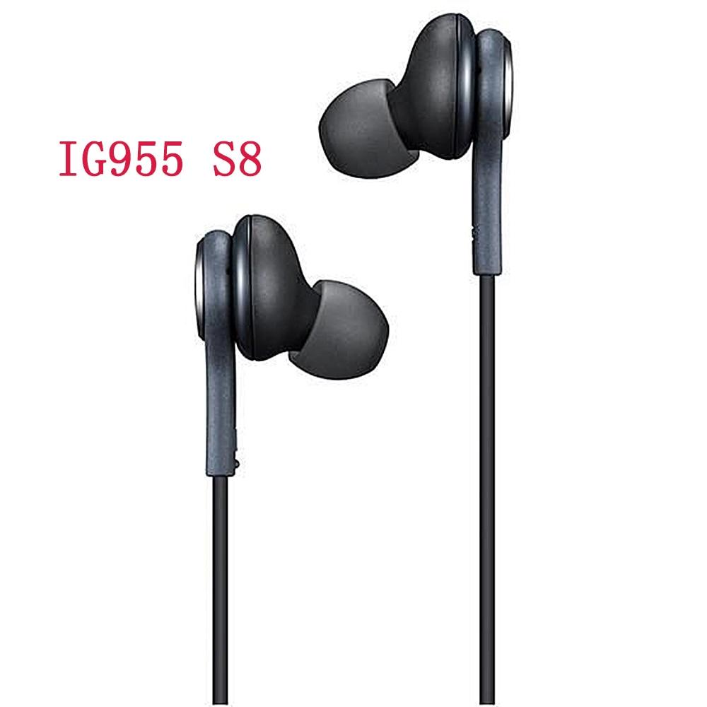 Наушники-вкладыши AKG IG955 3,5 мм с микрофоном, проводная гарнитура для смартфонов huawei, xiaomi, Samsung Galaxy s10, s9, s8, S7, S6, S5, S4
