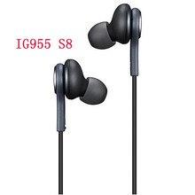 Akg ig955 fones de ouvido 3.5mm in-ear com microfone fio fone de ouvido para huawei xiaomi samsung galaxy s10 s9 s8 s7 s6 s5 s4 smartphone
