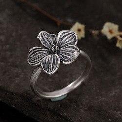 Женское Винтажное кольцо из серебра 925 пробы