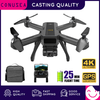 MJX B20 Drone 4K with HD Camera FPV 25min Flight Time Brushless Motor Follow Me SD Card GPS Drones RC Quadcopter for Adults