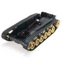 3 V-9 V DIY Schock Absorbiert Smart Roboter Tank Chassis Crawler Auto Kit Mit 260 Motor Für SCM