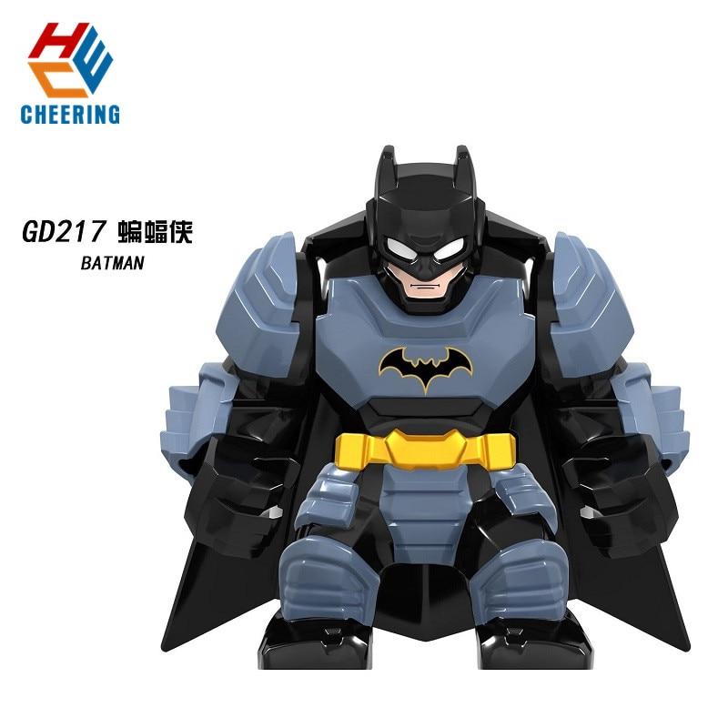 GD217 Big Figures Super Heroes Building Blocks Avengers 4 Endgame Black Panther Bricks Spriderman Batman Toys For Action Kids
