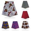 Afrikanische wachs Stoff Hohe Qualität Baumwolle Material Ankara Stoff Nähen afrikanische ankara ankara Echt ankara Wachs 6yard für kleid