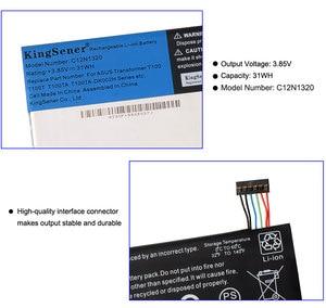 Image 5 - Аккумулятор KingSener C12N1320 для ASUS Transformer Book T100 T100T T100TA, серия 3,85 В, 31 Вт/ч, новый