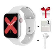 IWO 8 Lite Pro Bluetooth zadzwoń inteligentny zegarek miernik tętna ekg inteligentny zegarek do monitorowania 12 zegarek twarz W34 monitor aktywności fizycznej VS IWO 12 tanie tanio ivanony Brak Android Wear 128 MB Passometer Fitness tracker Uśpienia tracker Wiadomość przypomnienie Przypomnienie połączeń