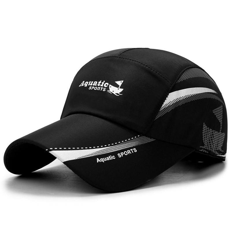 Waterproof Quick Dry Men Sport Duck Tongue Sun Hats Outdoor Space Baseball Cap