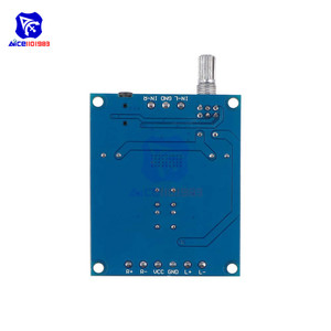Image 2 - diymore TPA3116 D2 50Wx2 Dual Channel DC 4.5 27V Digital Power Amplifier Board 2 CH Stereo High Efficiency Reverse Protection