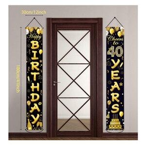Декор для дня рождения 30 40 50 60 Декор для дня рождения для взрослых 30 40 50 50 Украшения своими руками для вечеринки      АлиЭкспресс