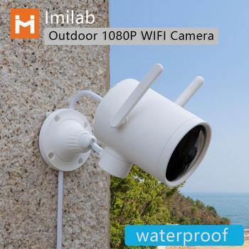imilab N1 Smart WIFI Camera Waterproof Outdoor 1080P  PTZ webcam IP Cam Night vision works with xiaomi mi Home App