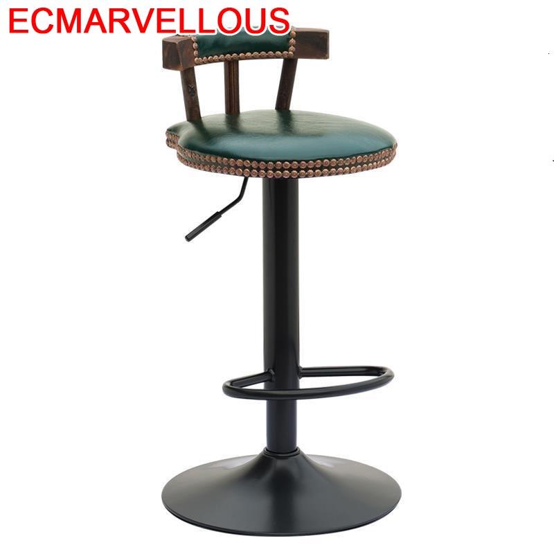 Banqueta Todos Tipos De La Barra Taburete Sedie Sandalyeler Stoelen Fauteuil Stuhl Leather Stool Modern Silla Cadeira Bar Chair