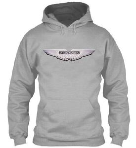 Aston Martin Hoodies Jacket Winter High Quality Men Casual Wool Liner Fleece Aston Martin Sweatshirts Hoody(China)