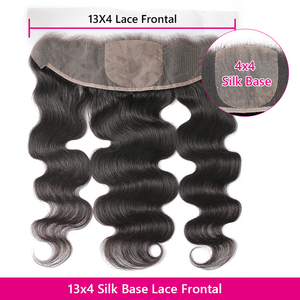 Image 3 - Beauty Forever Brazilian Body wave Hair Bundles With Lace Frontal 13*4 High Ratio Lace Frontal Remy Human Hair