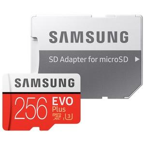 Image 3 - سامسونج EVO Plus بطاقة الذاكرة 8GB/32GB/SDHC 64GB/128GB/256GB/SDXC مايكرو SD TF بطاقة Class10 Microsd C10 UHS 1 بطاقات 100% الأصلي