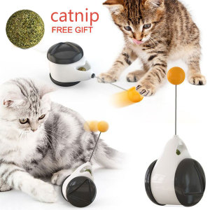 Smart Cat Toy with Wheels Auto