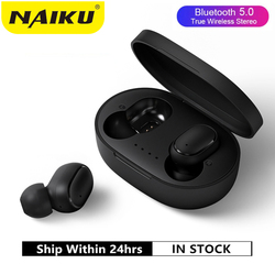 Bluetooth Earphone A6S TWS VS Redmi Airdots Wireless Headphone Stereo Headset Mini Earbuds for Xiaomi iPhone Huawei Samsung