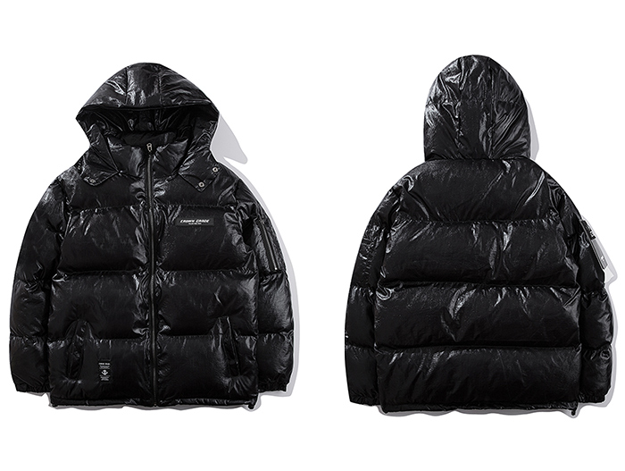 black puffer jacket mens