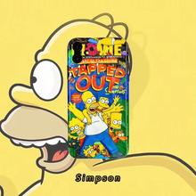 Funny Cartoon The Simpson Anime Silicone TPU Soft Phone Case for Apple iPhone 8 7 6 6S Plus X XS MAX 5 5S SE XR Luxury Cover 3d cigarette phone case for iphone 7 creativity soft silicon tpu cover for apple iphone 6s 6 x 8 plus 5 se 5s case 7 plus 6 plus