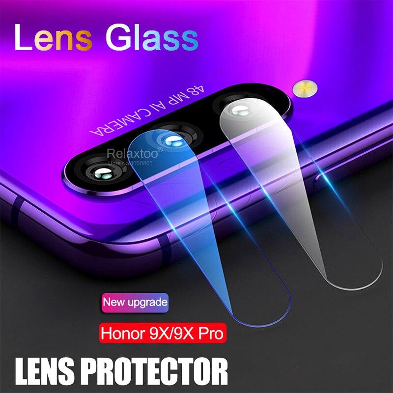 Verre honour 9x verre de protection sur honour 9x premium honor9x édition mondiale stk-lx1 6.59 ''film d'objectif de caméra sur honer 9 x x9
