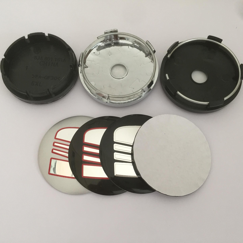 4 шт. 56 мм 60 мм 65 мм 68 мм 90 мм колпачки для центральной ступицы автомобильных эмблем колпачки для значков наклейка на колесо автостайлинг авто...