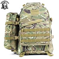 55L 1000D Large Capacity Army Tactical Backpack 3D Backpacks Military Assault Bags Outdoor Camping Hiking Trekking Rucksack Bag