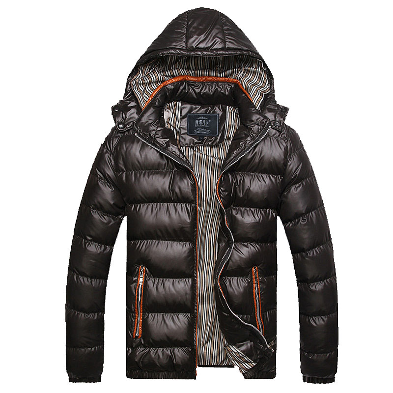 with free gift parkas man winter New Men Jacket Coats Cotton Padded Hooded Wadded Thick Warm Outerwear Casual Male Parkas XS-5XL