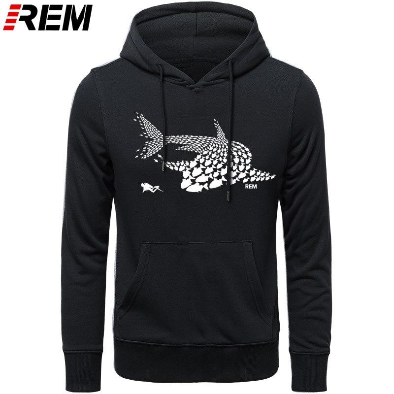 Image 5 - Rem hoodies mergulho peixe tubarão mergulhador tanque máscara engraçado presente de aniversário legal casual orgulho masculino unissex hoodies, camisolasAgasalhos e Moletons   -