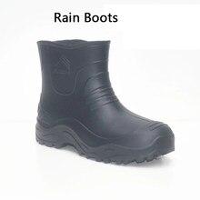 Aleafalling botas de chuva para motocicleta, botas grossas de eva para inverno, plataforma pu à prova d' água, sapatos mature