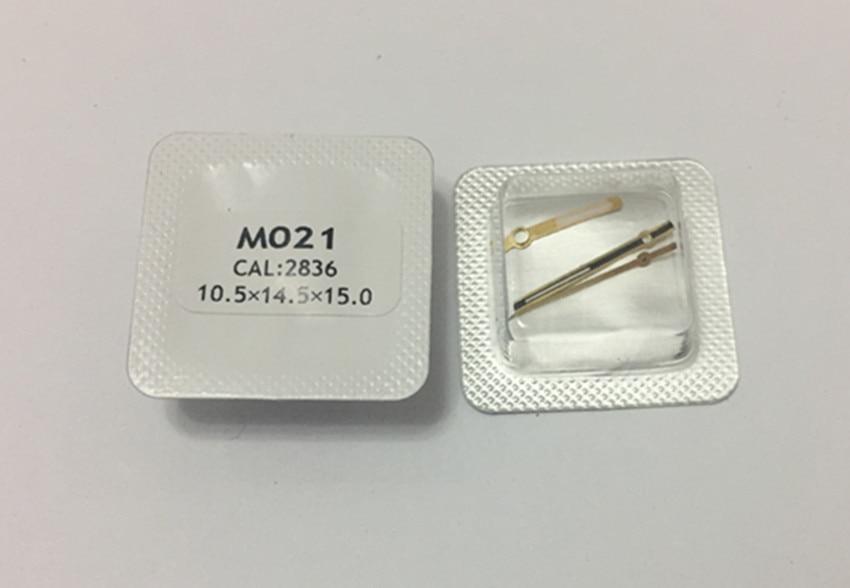 Watch accessories men's wear M021 watch ETA2836 movement accessories hands 2836 watch hands time and second hands a set