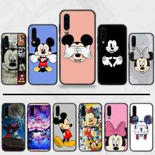 Mickey MinnieCartoon Luxus Telefon Fall Abdeckung Hull Für Huawei P9 P10 P20 P30 Pro Lite smart Mate 10 Lite 20 y5 Y6 Y7 2018 2019(China)