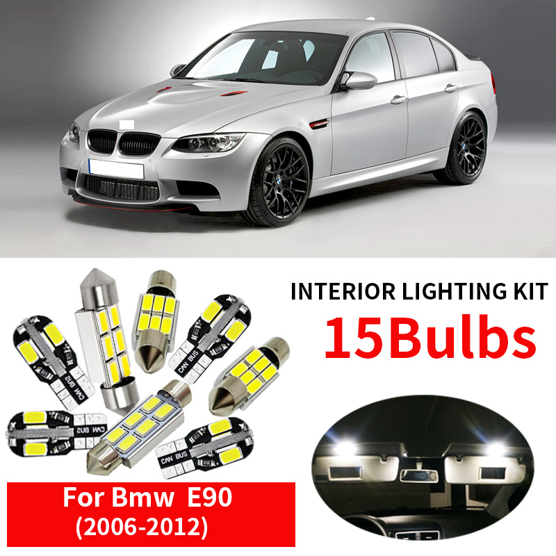 Interior Light LED replacement kit for VOLVO S60 COOL WHITE 6000K