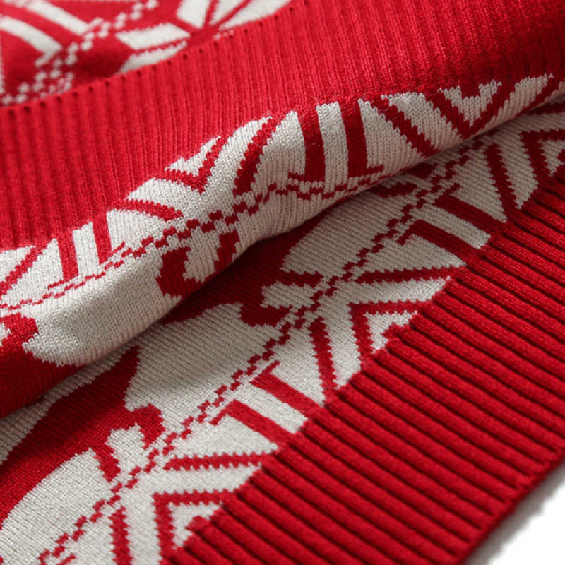JODIMITTY Nieuwe Kerst Stijl Mannen Herfst Winter Trui Herten Gedrukt Lange Mouwen Thicken Warm O-hals Truien Mannelijke Pull Femme2