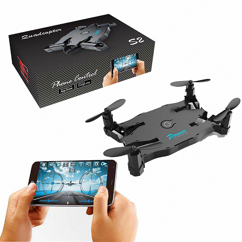 New Products Folding Remote-controlled Unmanned Vehicle WiFi High-definition Aerial Photography Quadcopter Pressure Set High Tel