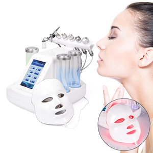 Image 1 - 7 In 1 Hydra Dermabrasion Peel Clean Skin Care BIO Light RF Vacuum Face Skin Cleaning Hydro Water Oxygen Jet Peel Machine