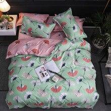 Bedding three sets/four sets of full-size Leaf bedding duvet cover comforter Sheet&Pillowcase & Duvet Cover Sets