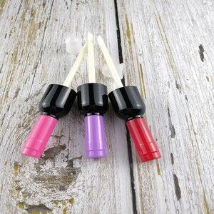 Image 3 - 10/30/50 Con 4 Ml 5 Ml Rỗng Bóng Môi Ống DIY Nhựa Bóng Môi Bình Đựng Rượu Vang hình Dạng Lọ Chiết Trống Lipgloss Bình