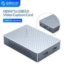 Orico алюминиевая hdmi совместима с 60fps usb30 видеозаписывающая