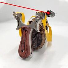 Модернизированная Рогатка из нержавеющей стали с лазерным прицел
