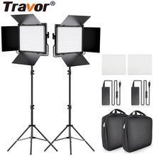 Travor 2 ชุดLED Video Light L4500K Dimmableกล้องProfessional Led LightสำหรับStudio Photographyแต่งหน้าLive(China)