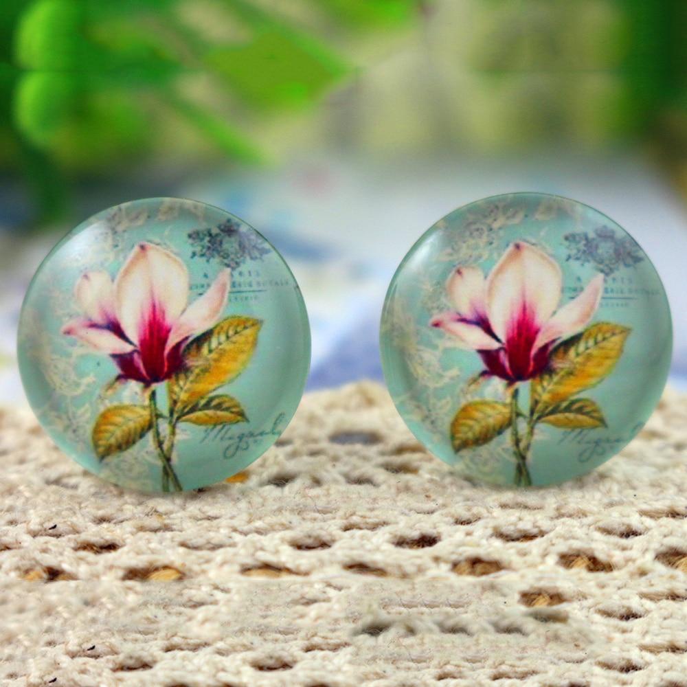 10pcs 20mm Handmade Photo Glass Cabochons  (H2-75)