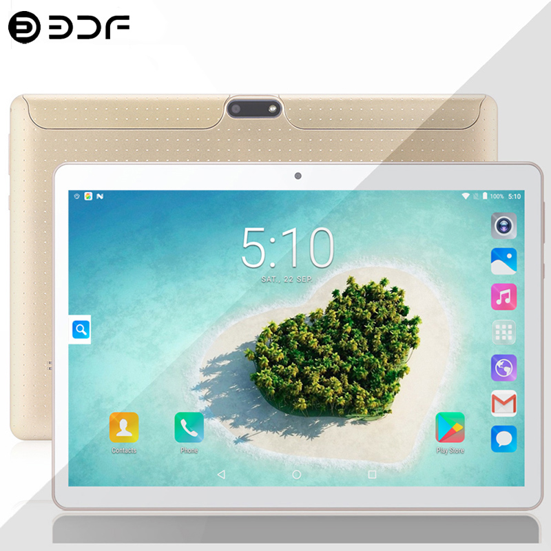 New System 10.1 Inch Tablet PC Android 9.0 3G/4g Phone Call 8GB+128GB TEN Core 1.5GHz Wi-Fi Bluetooth Dual SIM Support Tablet