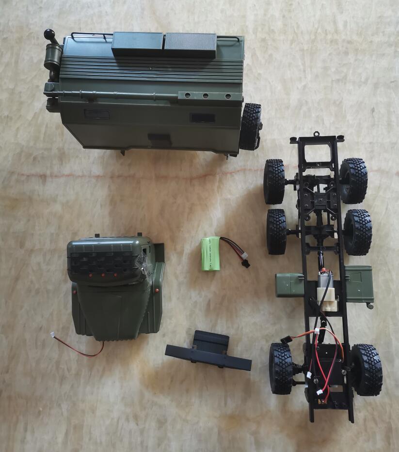 WPL B36 Урал 1/16 2,4G 6WD RC грузовик военный автомобиль оригинальные аксессуары рама заднее ведро дистанционное управление зарядное устройство|Детали и аксессуары|   | АлиЭкспресс