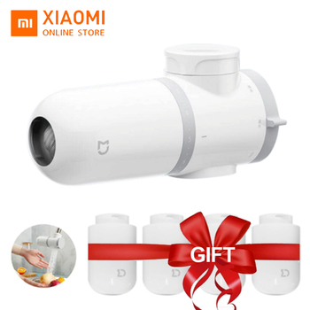 Xiaomi Mijia Faucet Water Purifier Filter Kitchen Tap Filter Water Purifier With 4PCS Free Activated Carbon xiaomi mijia faucet water purifier filter kitchen tap filter water purifier with 4pcs free activated carbon