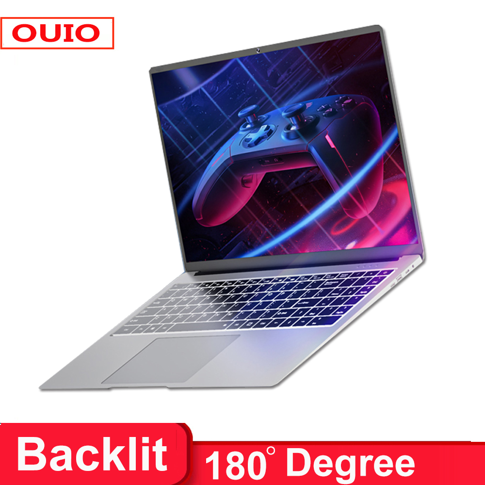 2021 New 15.6 inch 8G RAM 128G 256G 512G 1TB SSD Laptop With Backlit keyboard