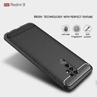 Carbon Faser Weichheit Telefon Fall Für Xiaomi Redmi Hinweis Poco K20 4 9T F1 6A 7A 4X 5 6 7 Plus Pro Stoßfest Schutz Fall Abdeckung